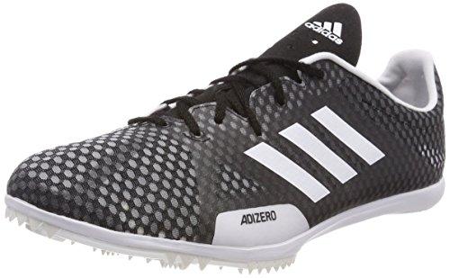 adidas Adizero Ambition 4, Scarpe da Atletica Leggera Uomo, Nero (Negbas/Ftwbla/Naalre 000), 44 EU