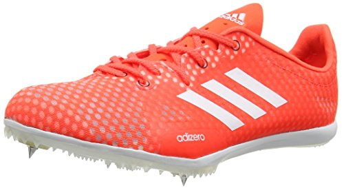 adidas Adizero Ambition 4, Scarpe da Atletica Leggera Uomo, Rosso (Solar Red/Running White/Black), 47 1/3 EU