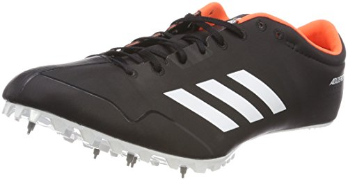 adidas Adizero Prime Sp, Scarpe da Atletica Leggera Unisex-Adulto, Nero (Negbas/Ftwbla/Naranj 000), 38 2/3 EU