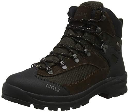 Aigle Huntshaw Mtd, Stivali da Caccia Uomo, Marrone (DarkBrown 001), 43 EU