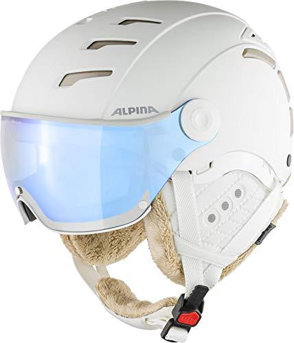 Alpina JUMP 2.0 VM Casco da sci e snowboard, da donna, bianco opaco, 55 - 58 cm