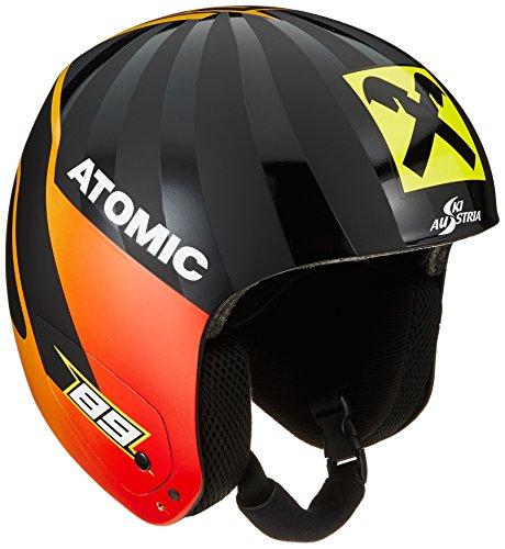 Atomic AN5005482L Redster Replica, Casco da Sci da Gara, Unisex, Taglia L (58-59 cm), Nero (Marcel)