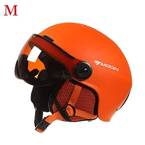Casco da sci integrato con occhiali Caschi da sci protettivi per uomo e donna