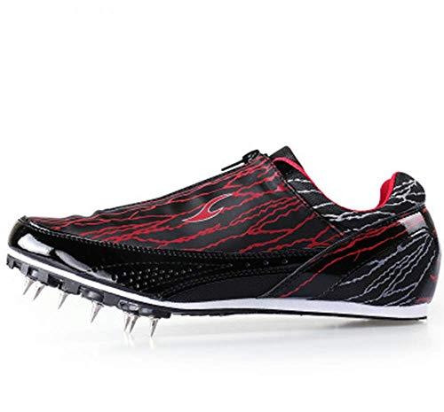 CVDEKH Scarpe Chiodate da Corsa Picchi di Atletica Leggera Sprint Concorrenza Scarpe da Corsa Scarpe da Allenamento Uomo E Donna,C,44