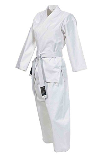 GIMER Karate Gi, Kimono Uomo, Bianco, 180 cm