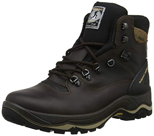 Grisport True Grip, Stivali da Escursionismo Alti Unisex-Adulto, Marrone (Brown 001), 40 EU