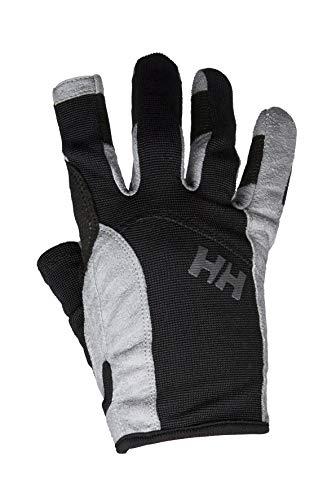 Helly Hansen Sailing Glove Long, Guanti da Vela, Design Sportivo con Dita Intere, per Nautica, Resistenti, per Ogni Stagione Unisex, Nero, XS
