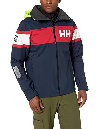 Helly Hansen Salt Jacket Tuta Sportiva, Blu (Azul Navy 597), Small Uomo