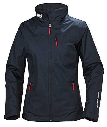 Helly Hansen W Crew Midlayer Jacket, Tuta Sportiva Donna, Blu (Azul Navy 598), Medium