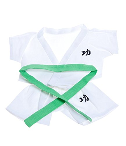 Karate con 5 Cinture di Colore Teddy Bear Outfit (20,3 cm)
