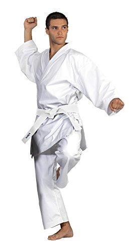 Kwon Divisa da Sport di Combattimento Taekwondo & Karate 8 OZ, Bianco (Weiß), 160