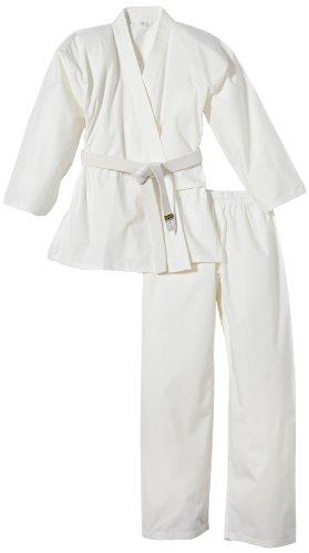 Kwon Karategui Completo da Karate Renshu, Bianco (Weiß), 170 cm