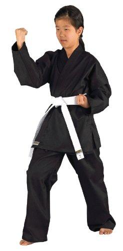 Kwon, Kimono Bambino Karatea Shadow, Nero (Schwarz), 140 cm