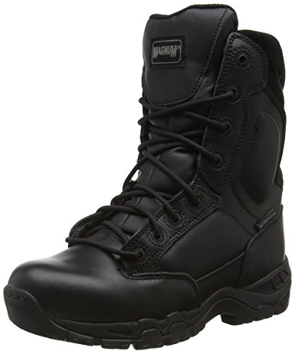 Magnum Viper Pro 8.0 Leather Waterproof, Stivali da Lavoro Unisex - Adulto, Nero (Black 021), 41 EU (7 UK)