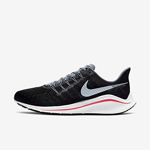 Nike Air Zoom Vomero 14, Scarpe da Atletica Leggera Uomo, Multicolore (Black/Bright Crimson/Armory Blue 000), 45 EU