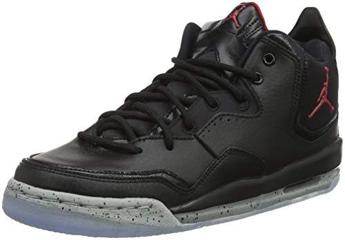 Nike Jordan Courtside 23 (GS), Scarpe da Basket Bambino, Nero (Black/Gym Red/Particle Grey 023), 38 EU