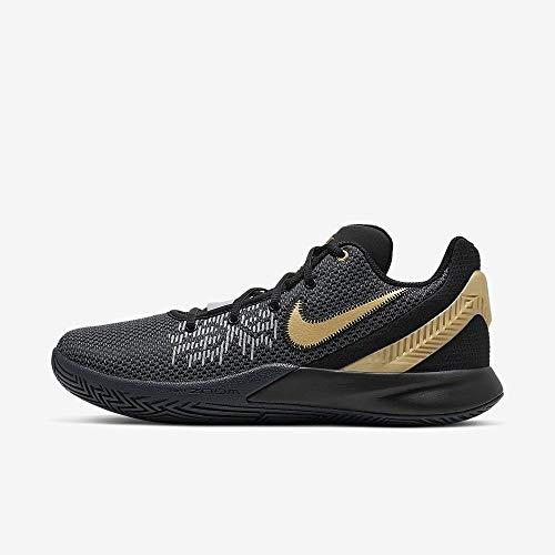 Nike Kyrie Flytrap II, Scarpe da Basket Uomo, Multicolore (Black/Metallic Gold/Anthracite 004), 45 EU