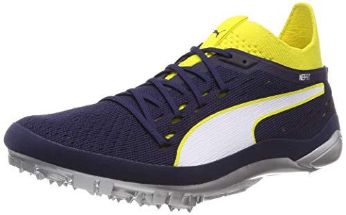 Puma Evospeed Netfit Sprint 2, Scarpe da Atletica Leggera Unisex-Adulto, Giallo (Blazing Yellow-Peacoat White), 42 EU
