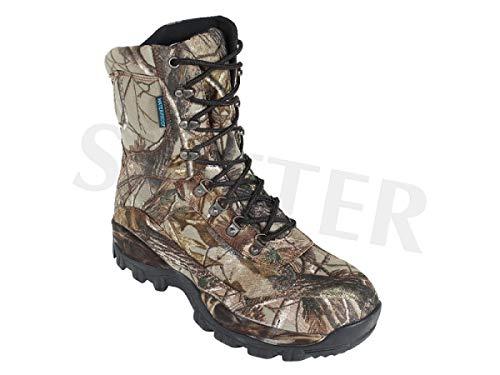 Scarpe da Caccia/Scarpe da Escursionismo da Uomo Impermeabili e in Stile Mimetico - Misura: 41