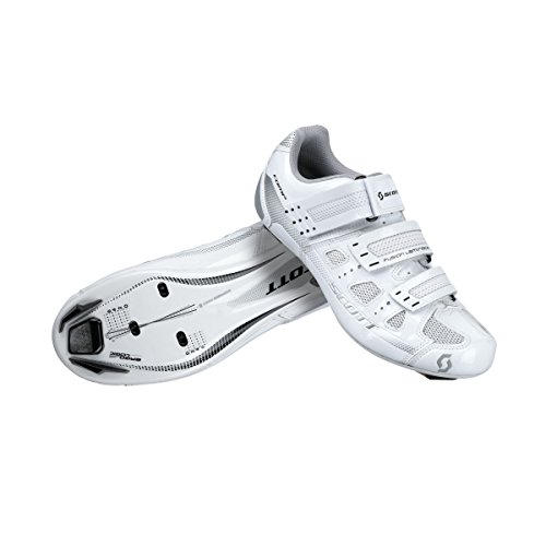 SCOTT Road Comp Scarpe da Ciclismo su Strada, da Donna, Bianco 2016, Donna, White Gloss