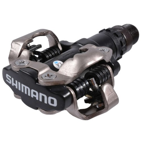 Shimano EPDM520L, Pedali MTB, 2 Pezzi, Nero
