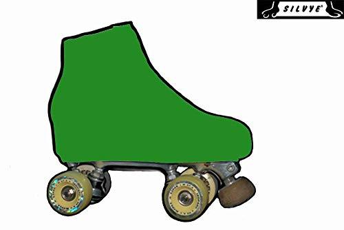 SILVYE - Copri Pattini per Pattinaggio Artistico Gamma Verde (Verde Bosque, Taglia S)