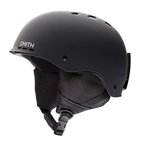 Smith Holt 2, Casco da Sci Unisex-Adulto, Nero (Black), S (51 - 55 cm)