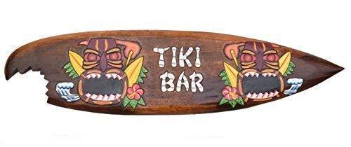 Tavola da Surf 100cm Tiki BAR Decorazione da Appendere Lounge Stile