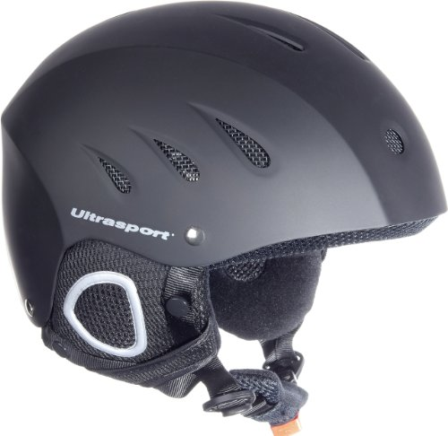 Ultrasport Race Edition Casco da Sci, Nero, L