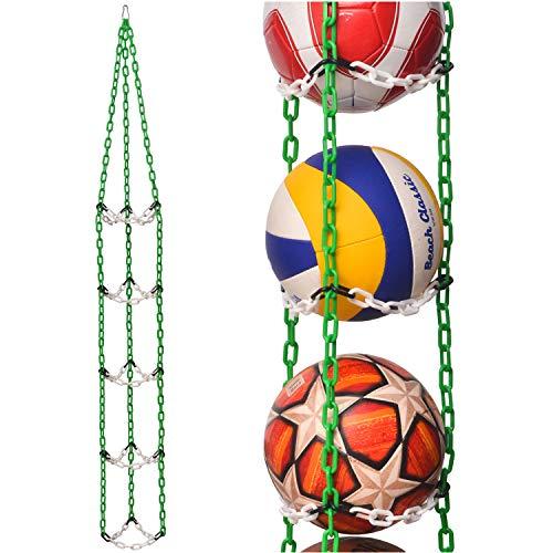 VailantesTM Portapalloni Per Palloni Da Calcio Pallavolo Pallacanestro Supporto Originale Per Palloni Da Mettere Nella Camera Dei Bambini Oppure In Un Club Sportivo Regalo Di Compleanno Per Un Ragazzo