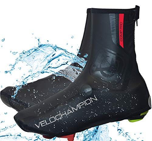 VeloChampion Copriscarpe Impermeabili VC Comp PRO Waterproof Overshoes (L-XL)