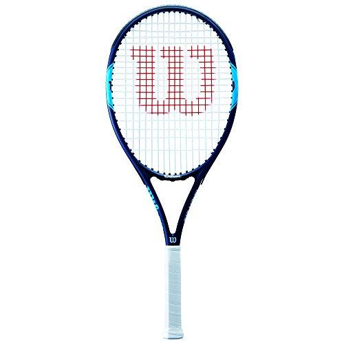 WILSON Monfils Open 103, WRT30650U3 Racchetta da Tennis per Giocatori Principianti e Amatoriali Unisex Adulto, Blu/Navy, L3