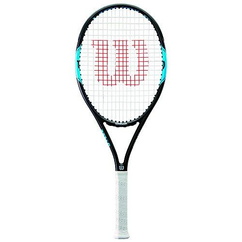 WILSON Monfils PRO 100, WRT57210U2 Racchetta da Tennis per Giocatori Ambiziosi Unisex Adulto, Blu/Navy, L2