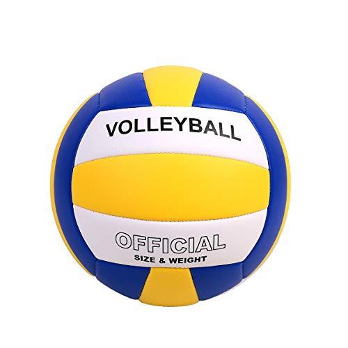 YANYODO Pallone da pallavolo Pallone da Beach Volley Soft Touch Volleyball Pallavolo per Bambini/Giovani/Adulti