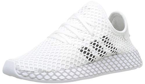 adidas Deerupt Runner, Scarpe da Fitness Unisex-Adulto, Bianco (Ftwr White/Core Black/Grey Two F17), 36.5 EU