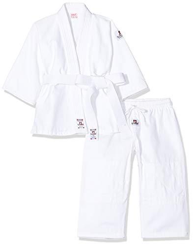 DanRho, Judogi Bambino Yamanashi, Bianco (Weiß), 130