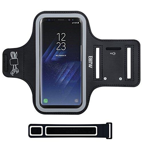 EOTW Samsung Galaxy S8 Plus Fascia da Braccio Armband Porta cellulare Custodia Sportiva per Grande Smartphone Samsung Huawei Moto da Corsa Maratona Palestra Running Jogging