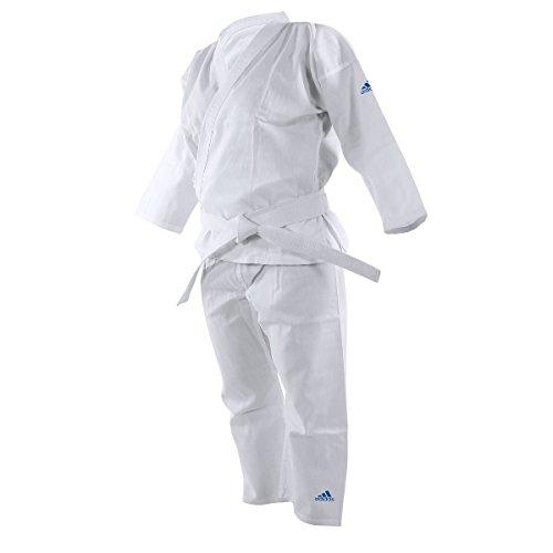 Judogi Adidas Adistart J181 con cintura bianca 110 CM