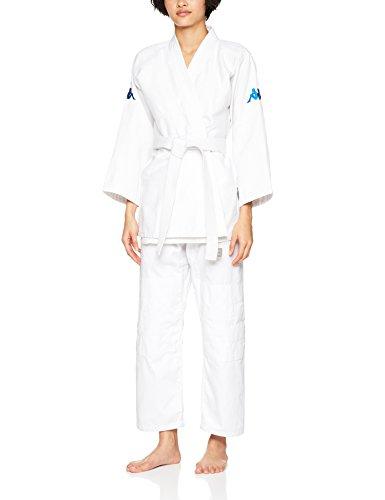 Kappa4Judo Los Angeles, Judogi Unisex - Adulto, Bianco, 4/170 cm