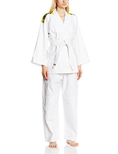 Kwon, Kimono Bambino Judo Junior, Bianco (Weiß), 91 cm