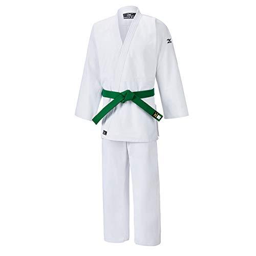 Mizuno Judogi Hayato, 100% cotone 550 gr, Bianco (160)