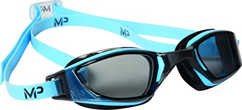 MP Michael Phelps Xceed, occhialini da Nuoto, Unisex, Xceed, Blue/Black, N/A