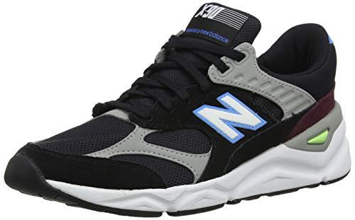 New Balance X-90, Sneaker Uomo, Nero (Black/Light Cobalt CK), 46.5 EU