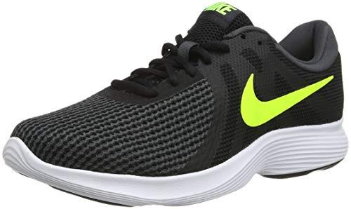 Nike Revolution 4 EU, Scarpe da Fitness Uomo, Multicolore (Black/Volt/Anthracite 007), 44