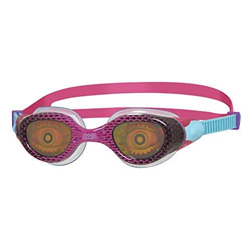 Zoggs, occhialini da Nuoto Unisex per Ragazzi, con Lenti Ologramma, 306539, Viola/Rosa/Ologramma, 6-14 Anni